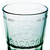 6 x Bacardi Rum Mojito 0,3l Glas / Gläser, Family Owned, Markenglas, Longdrinkglas, Cocktailglas