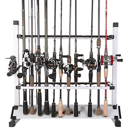 One Bass Support de Canne à pêche en Alliage...