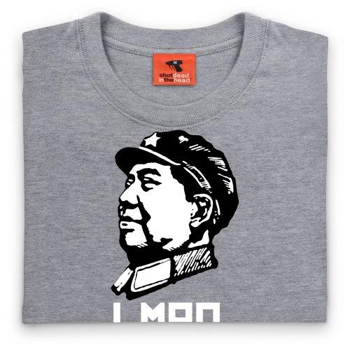 LMAO T-Shirt, Damen Grau Meliert