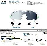 UVEX Sportsonnenbrille Sportstyle 802 V, Dk.Blue Yellow/Lens Variomatic Smoke, One Size, 5308724601