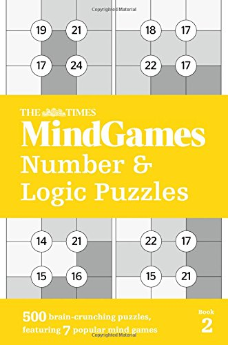 The Times Mind Games Number and Logic Puzzles Book 2 thumbnail