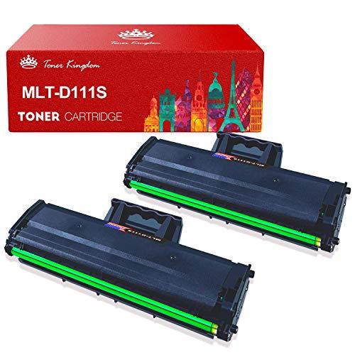 MLT-D111S, Toner Kingdom Compatibile per Samsung MLT D111S 111S Cartuccia Toner per Samsung Xpress M2070 M2070W M2026 M2026W M2070FW M2020W M2020 M2022 M2022W (2 Nero)