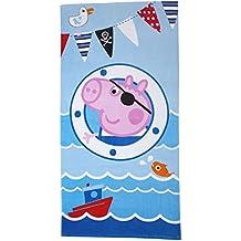 Toalla de playa Peppa Pig George Pirata