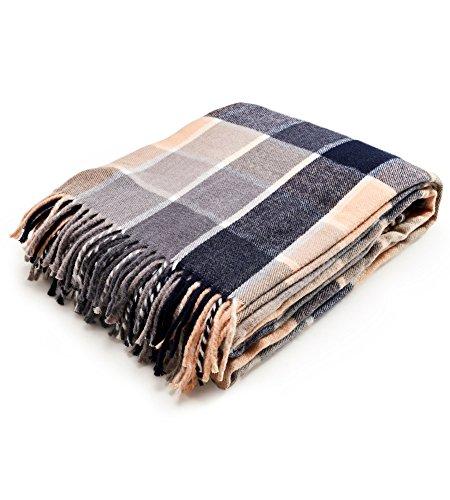 Arus, manta/colcha/cubrecama/plaid/manta de viaje, 100% algodón, fibr