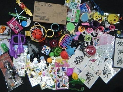 Fat-Cat - 12 x Petits jouets pour garçon ou filles,