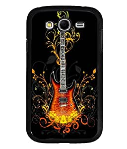 printtech Cool Guitar Pattern Design Fire Back Case Cover for Samsung Galaxy Grand Neo::Samsung Galaxy Grand Neo i9060