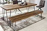 WOHNLING Esszimmer Sitzbank Massiv-Holz Shees...Vergleich