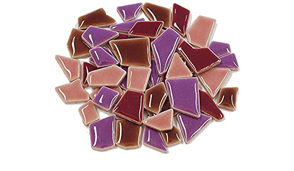 /Multicolore M/élange 100/g Flip Mini Carreaux de mosa/ïque en c/éramique/