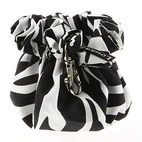 Louka Pochette à Tétine Zebra, bébé garçon & fille–Boîte avec clip pour rangement de la sucette à sucette