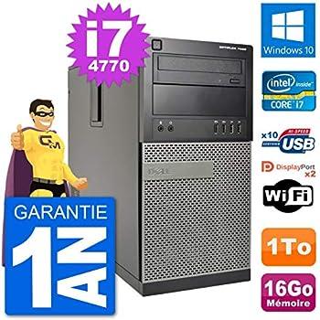 Dell PC Tour 7020 Intel Core i7-4770 RAM 16 GB Disco Duro 1 TB ...