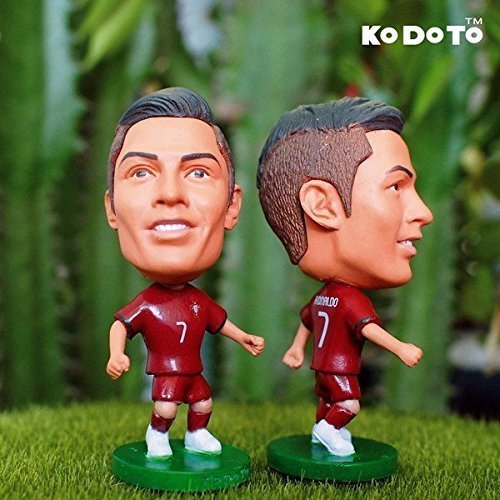 Cristiano Ronaldo C7 CR7 #7 - Portugal National Team Edition Football Figurine Soccer Star Figure Doll by DREAMY
