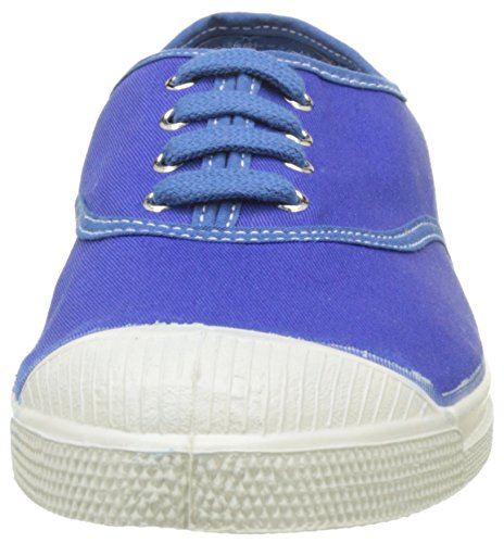 Bensimon - Tennis Vintage Lacet, Basse Donna Blu (Bleu Vif)