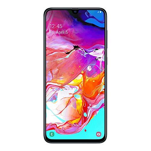"Samsung Galaxy A70 (2019) Smartphone, Display 6.7"", 128 GB Espandibili, Dual Sim, Black [Versione Italiana]"