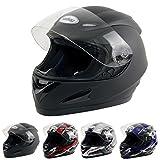 Yorbay Motorradhelm Integralhelm Sturzhelm Helm mit Aufbewahrungstasche mit verschienden Typen & in unterschiedlichen Gr