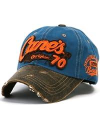 """ililily Baseballkappe: abgenutztes Aussehen (""""Used Look""""-Design), klassischer Stil, besteht aus 100% Baumwolle, """"Canes"""" gestrickte Aufschrift, Baseball Cap, Snapback, Trucker Cap, Mütze"""