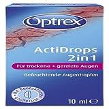 OPTREX ActiDrops 2in1 f.trockene+gereizte Augen 10 ml Tropfen