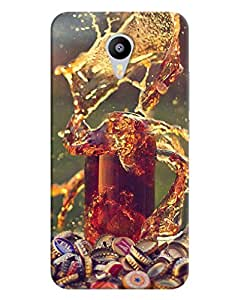FurnishFantasy 3D Printed Designer Back Case Cover for Meizu M2 Note