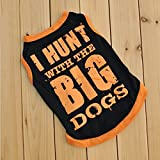 Cute Summer Cool Various Small Dog T Shirt Pet Clothes Vest M