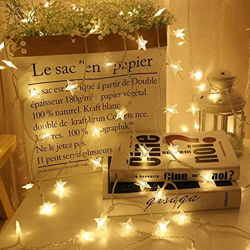 Zubehör Helles Regenbogen Kostüm - Enticerowts Lichterkette mit 20 LED-Lichtern für Weihnachten, super hell, für Urlaub, Party, Garten, Garten, USB-Anschluss, Aufladung 1