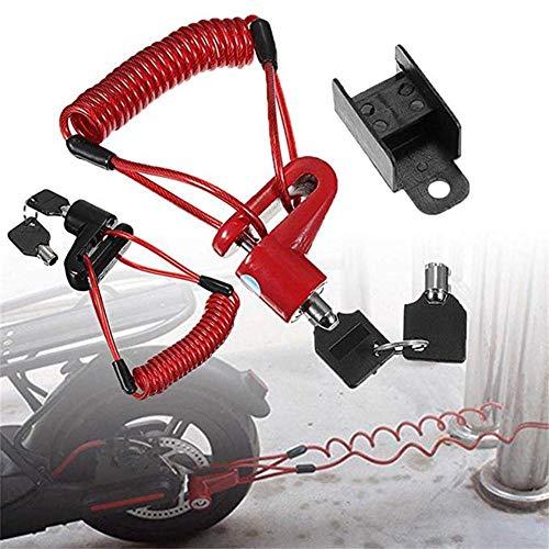 TARTIERY Elektroroller Diebstahlsicherung Stahldrahtbremsen Scheibenräder Locker Für Xiaomi Pro Elektroroller Zubehör