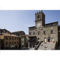20x16 Print of Municipal house of Cortona (1172085)
