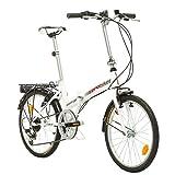 Multibrand, Klapprad Fahrrad Probike FOLDING 20 Zoll Shimano 6 GANG, STVO Beleuchtung, Komplett montiert