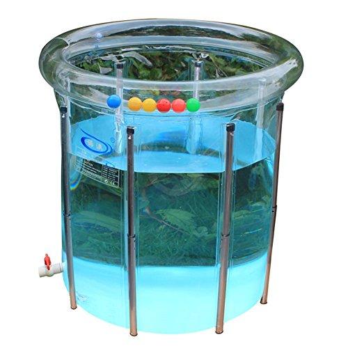FACAI888 Baby-Schwimmbad-Unterstützungs-faltende aufblasbare transparente Pool-Baby-Kind-Familien-Baby-Pool
