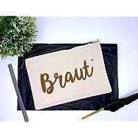 Beutel Braut - ideal als Kosmetikbeutel, Mäppchen, Handybeutel....
