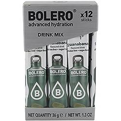 Bolero Sticks Guanabana - Paquete de 12 x 3 gr - Total: 36 gr