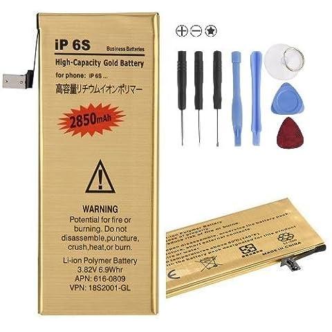 Batterie Gold Iphone 5s - Pcjob Remplacement Batterie Compatible pour Apple Iphone