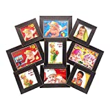 Wall Hanging Collage Frame of 9 Photos (...