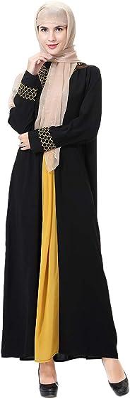 عباية للنساء من هانيمودو للمناسبات غير الرسمية بأكمام طويلة من الملابس التقليدية للنساء