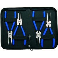 Bgs Technic Pro+ - Set 4 Pinze Per Anelli Di Sicurezza, 175 Mm