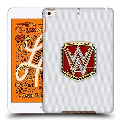 Head Case Designs Offizielle WWE RAW Women's Champion Weltmeistertitel Harte Rueckseiten Huelle kompatibel mit iPad Mini (2019) (Wwe Womens Champion)