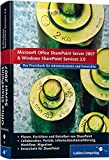Image de Office SharePoint Server 2007 und Windows SharePoint Services 3.0. Das Praxisbuch für Adm