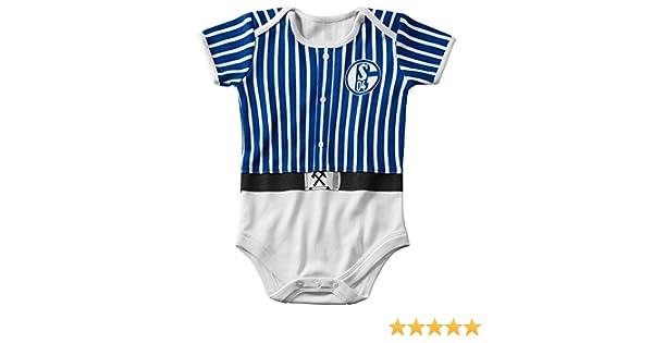 "56-80 FC Schalke 04 S04 Baby Body ""Glück Auf"" Gr"