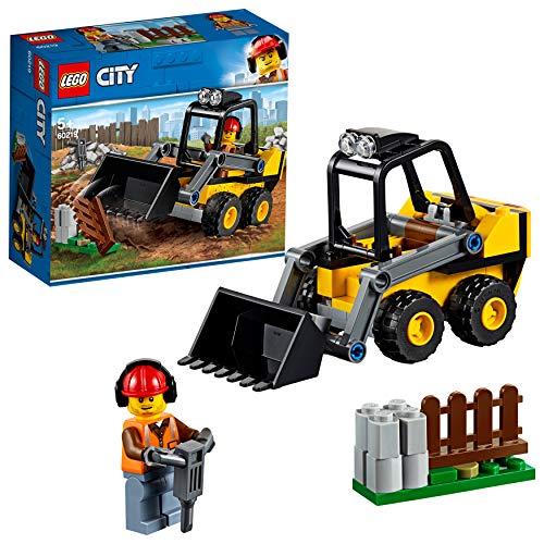 LEGO City Great Vehicles - Retrocargadora, grúa de juguete divertido de construcción (60219)