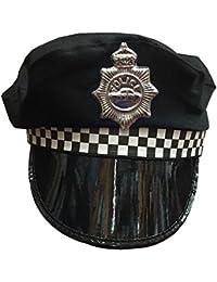 Wicked Fun Men & Women Policeman Adjustable Party Theme Hats Caps & Headwear For Fancy Dress Accessory