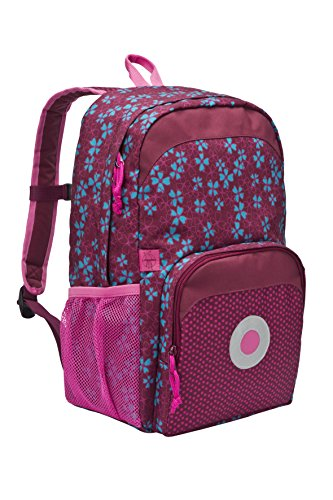 Lässig Mini Backpack Big Kinderrucksack Kindergartentasche, Blossy Pink