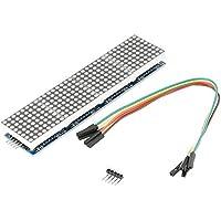 MAX7219 4 in 1 LED Dot Matrix Display Modul mit 5 Pin Linie MCU Steuerung Arduino