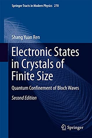 Electronic States in Crystals of Finite Size: Quantum Confinement of