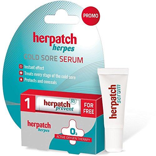 Herpatch Serum für Fieberbläschen + Frei Vorbeugung gegen Fieberbläschen, 5 g