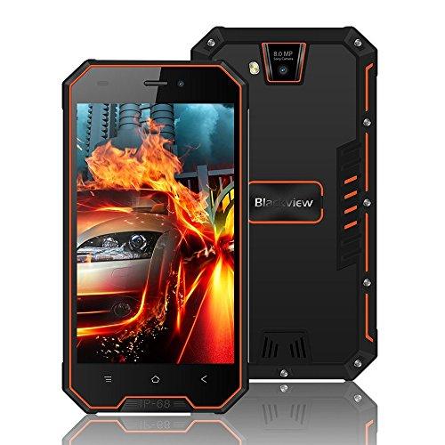 """Blackview BV4000 Pro, Smartphone de 4.7""""HD (16GB ROM, 2GB RAM, Batería de 3680mAh, Cámara Dual de 8MP, Android 7.0..."""