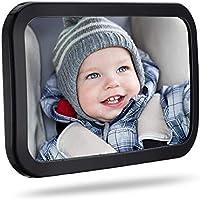 DIVAND Babywagenspiegel f/ür den Hintergrund sicherste Shatterproof Baby Mirror for Car-Rear View Baby Car Seat Mirror to See Rear Facing Infants and Babies Ocean