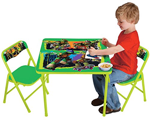 Nickelodeon Teenage Mutant Ninja Turtles Maxin and Shellanxin Activity Table Set