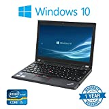 Lenovo X230 (12' Laptop) [Intel Core i5 3320M 2.60GHz, 8GB Memory, 256GB SSD,with Windows 10 Professional (Certified Refurbished)