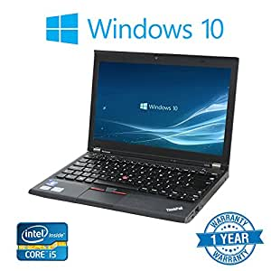 """Lenovo X230 (12"""" Laptop) [Intel Core i5 3320M 2.60GHz, 8GB Memory, 256GB SSD,with Windows 10 Professional (Certified Refurbished)"""
