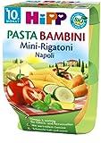 Hipp Pasta Bambini, Mini-Rigatoni Napoli, 4er Pack (4 x 440g)