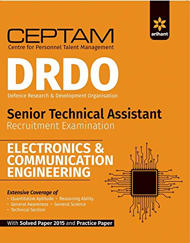 CEPTAM DRDO Senior Technical Assistant ELECTRONICS & COMMUNICATION ENGINEERING