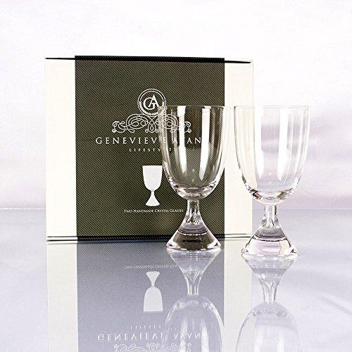 Hecho a mano 100% Plomo Premium–Copas de vino de cristal conjunt